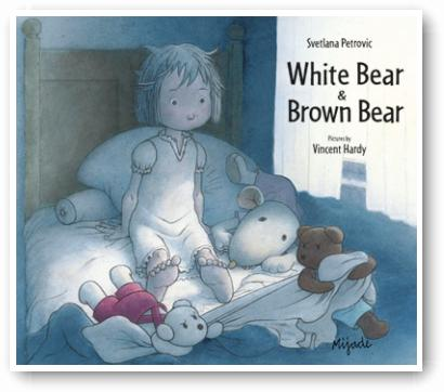 Brown bear and White bear